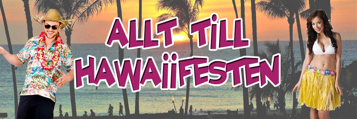 Hawaiifest - Maskerad med hawaiitema
