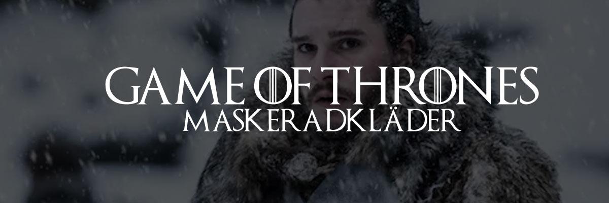 Game of thrones maskeradkläder